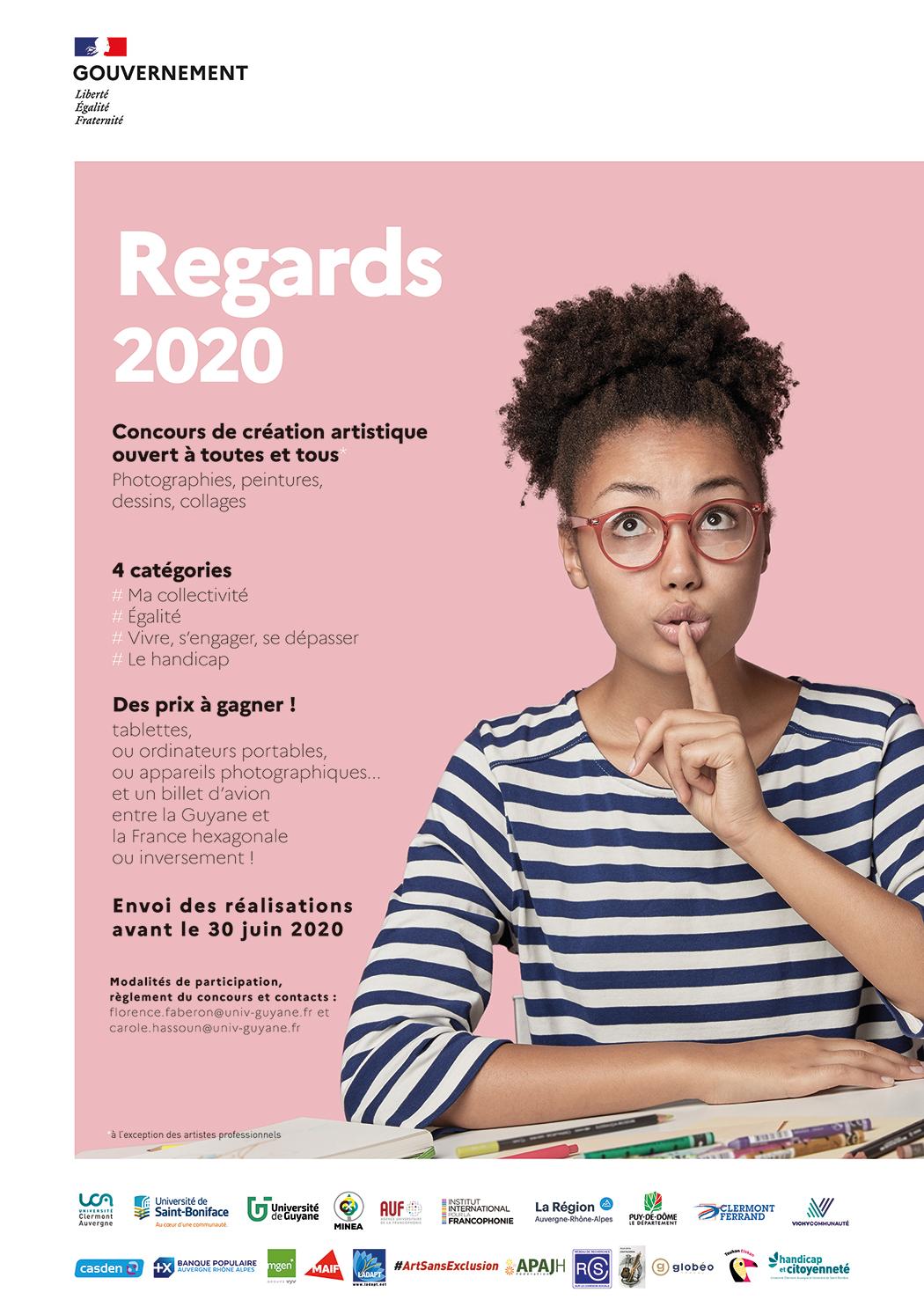 Affiche - Regards 2020